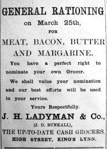 1918 Mar 15th Ladymans