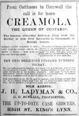 1920 May 7th Ladymans
