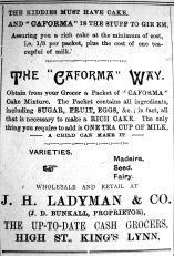 1921 Aug 12th Ladymans cake mix