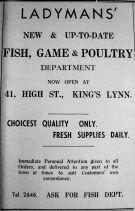 1938 June 24th Ladymans new dept ad 2