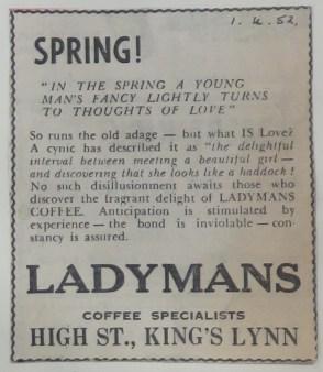 1952 April 1st Ladymans Archive (Ashley Bunkall) 0352