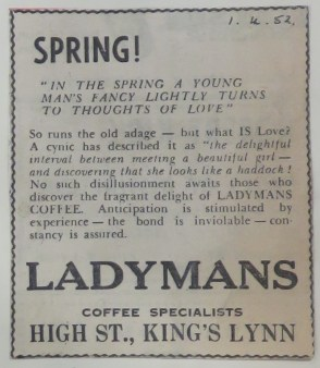1952 April 1st Ladymans Archive (Ashley Bunkall) 0352