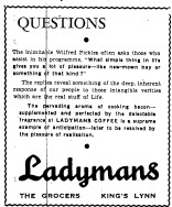 1952 Jan 11th Ladymans