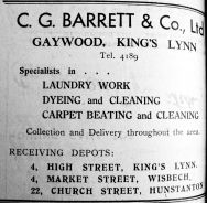 1945 June 22nd C G Barrett & Co Ltd