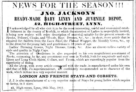 1844 May 18th John Jackson