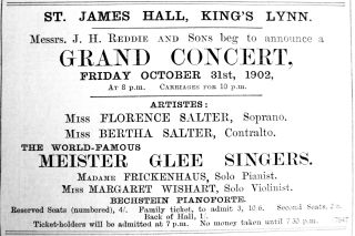 1902 Oct 17th Reddie concert