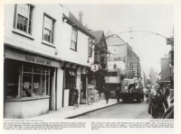 1959 November 23rd No 46 (Trustee Savings Bank) No 45 (Queens Head) Nos 43 & 44 (Boots) Demolition of No 42 (Hipps)