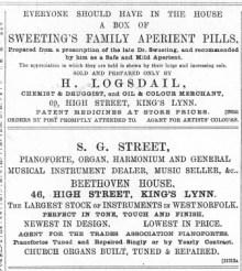 1889 Jan 5th S G Street @ No 46