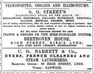 1895 June 29th S G Street @ No 46