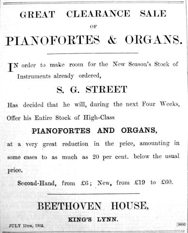 1902 July 11th S G Street
