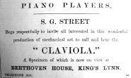 1906 Mar 2nd S G Street Claviola