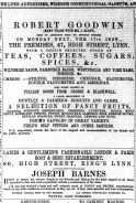 1873 Feb 15th Robert Goodwin @ No 47