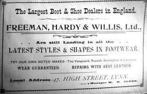 1905 Sconces Almanack F H & Willis