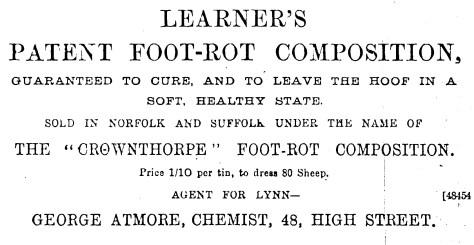 1892 July 2nd George Atmore 48