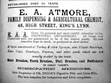 1904 Sconces Almanac Atmore
