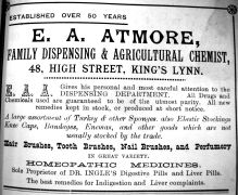 1905 Sconces Almanac E A Atmore