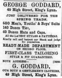 1897 April 30th George Goddard @ No 49