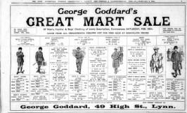 1923 Feb 9th George Goddard sale @ No 49
