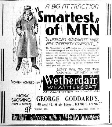 1933 May 19th George Goddard
