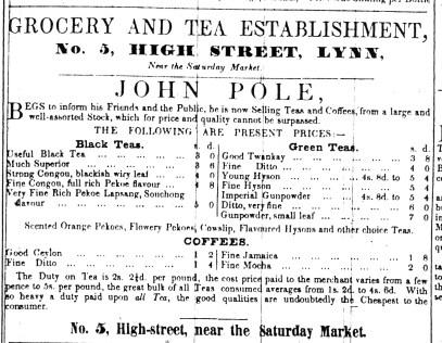 1844 Sept 7th John Pole