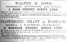 1900 Aug 17th Walter Lowe sells to PP&H