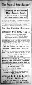 1920 Dec 10th Bradfields father Christmas