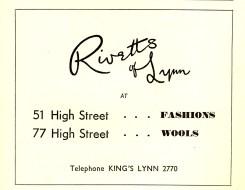 1952 KL Festival Prog