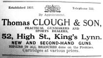 1934 Aug 31st Thomas Clough & Son