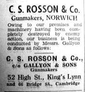 1942 July 24th Gallyons take on work