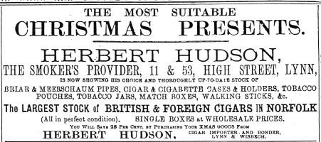 1901 Dec 21st Herbert Hudson LN&CP