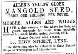 1872 March 2nd Allen & Willis @ No 55