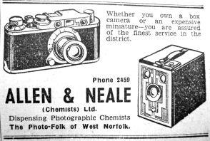 1952 Aug 1st Allen & Neale