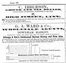 1858 Charles Ibberson @ No 57
