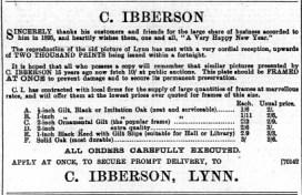1896 Jan 11 Chas Ibberson @ No 57