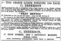 1896 Sept 5th C Ibberson @ No 57