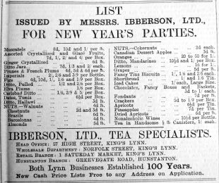 1905 Dec 22nd Ibberson