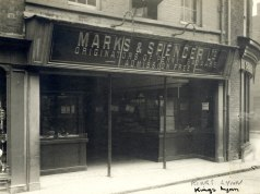 1910 approx Marks & Spencer (M & S Archives)