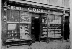 1907 Guide Cockle @ No 59 shopfront