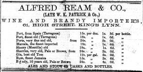 1872 Feb 10th Alfred Ream & Co
