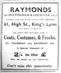 1937 Mar 26th Raymonds opens