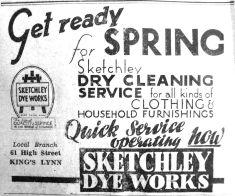 1943 Jan 29th Sketchleys