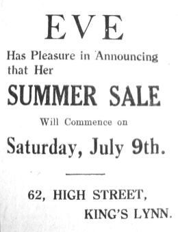 1927 July 8th Eve