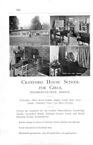 1912 Lilian Rose @ Cranford House