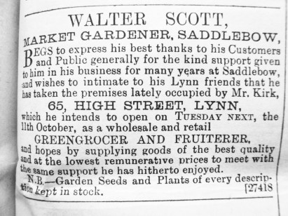 1889 Walter Scott (see No 66)