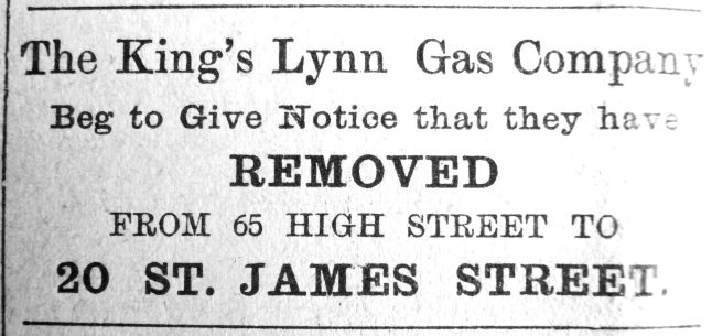 1909 Apr 16th Gas Co leaves