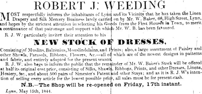 1844 May 18th Robert J Weeding 01