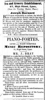 1848 April 29th Joseph Barnard @ 67