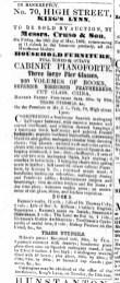 1862 May 10th J L Fysh bankrupt @ No 70
