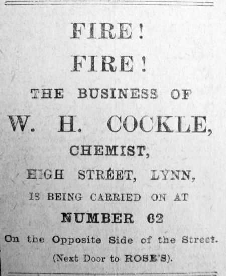 1913 May 23rd Fire @ Cockles