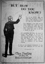 1927 June 17th Thos Peatling
